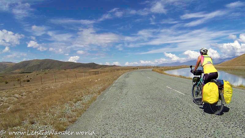 The Canal Road Outside of Lake Tekapo
