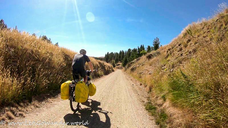 Along the Otago Central Rail Trail