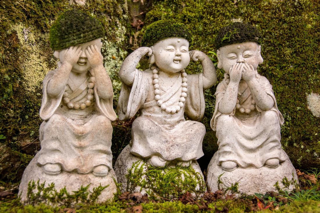 Buddhas on Miyajima