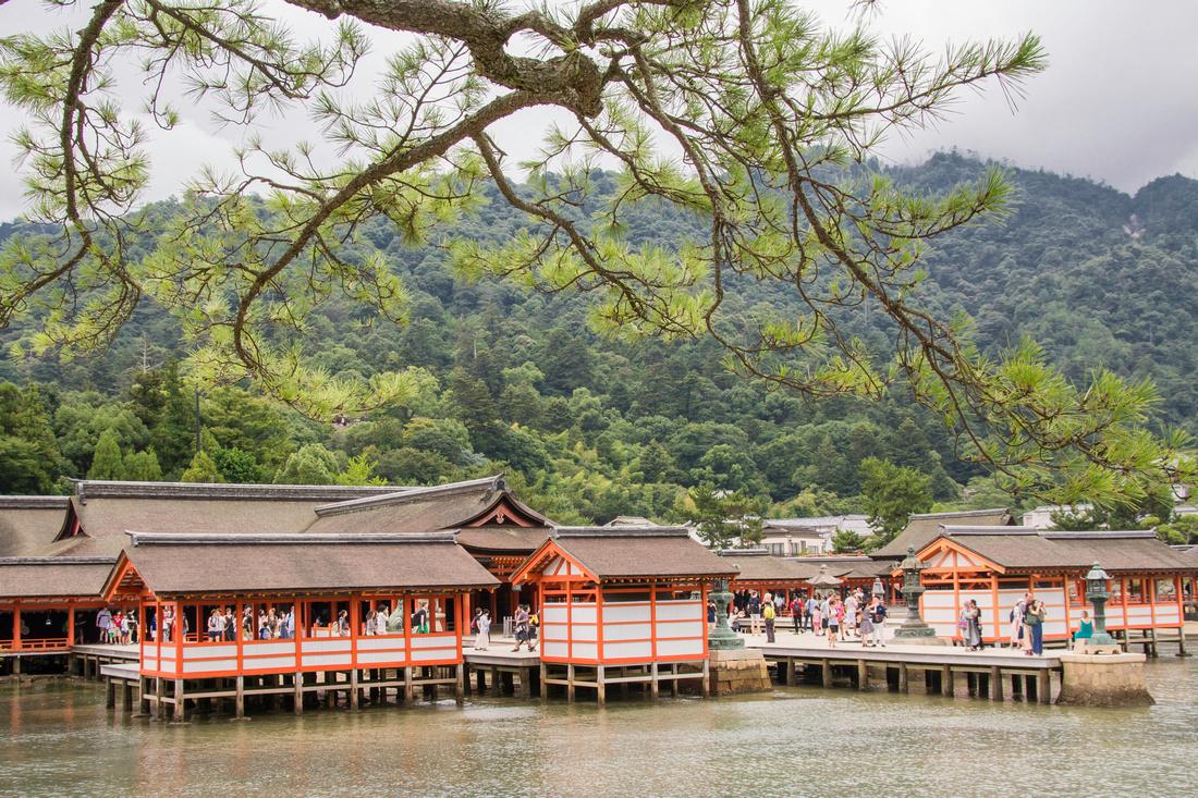Shrine on Miyajima