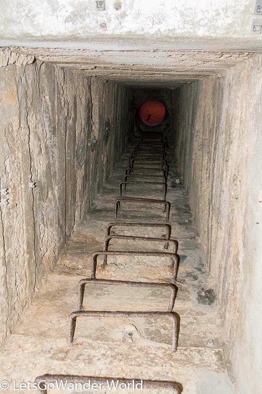Military combat tunnels on Vis