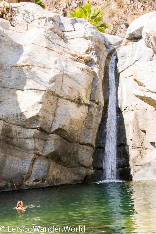 Swimming at Fox Canyon