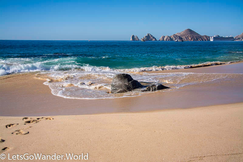 View of the Arch from Medano Beach