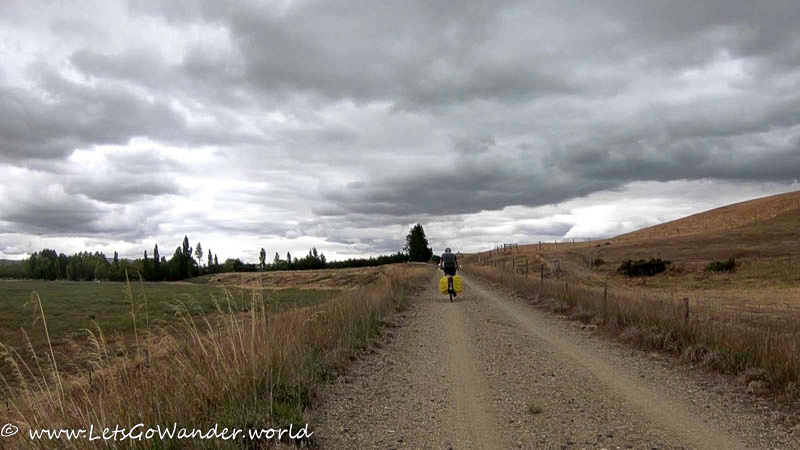 Stormy Skies on the Central Otago Rail Trail