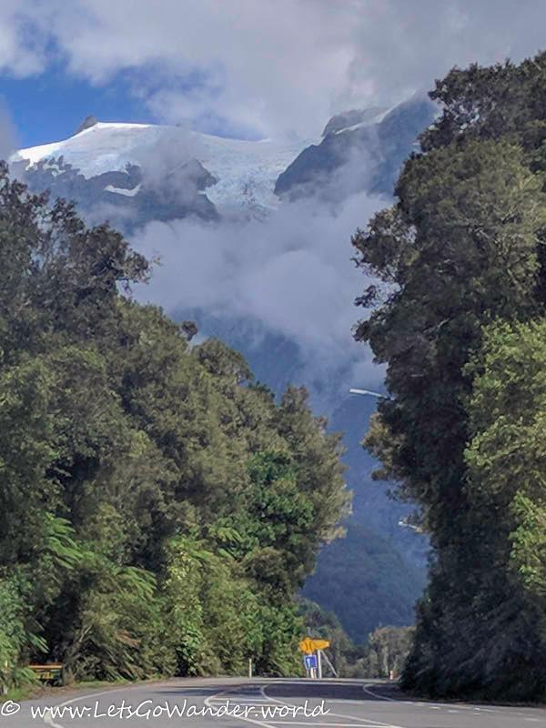View of Franz Josef glacier