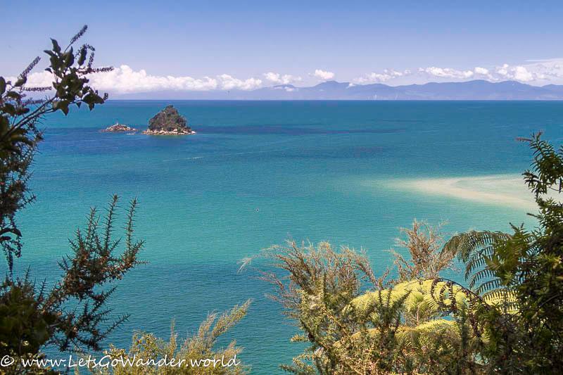 Aqua Blue Waters of Abel Tasman Marine Reserve