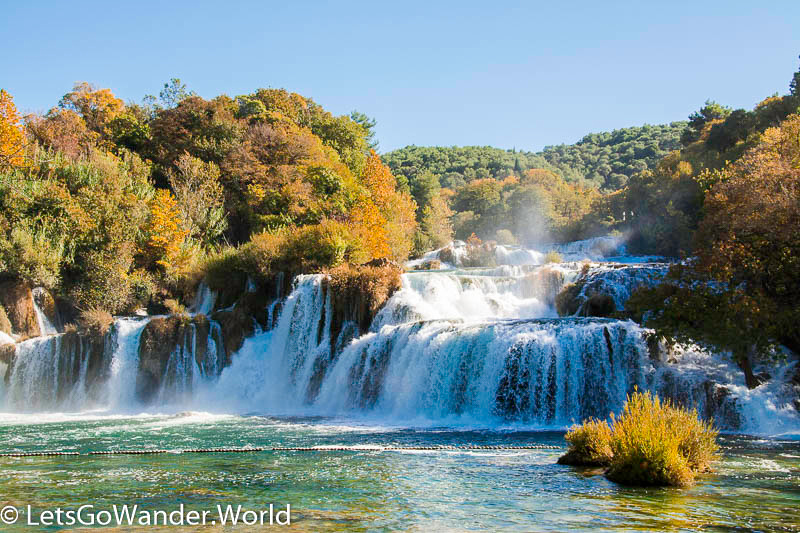 Skradinski Buk Waterfalls at Krka National Park, Croatia