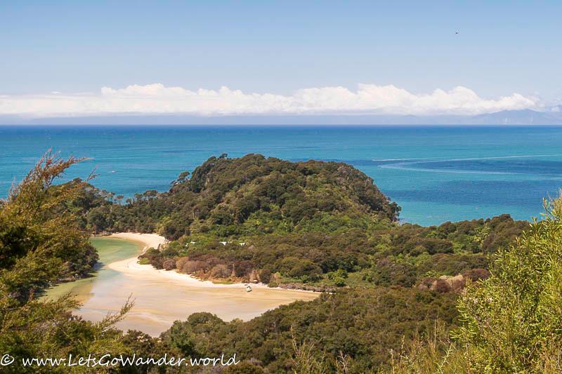 Views along Abel Tasman Coastal Track